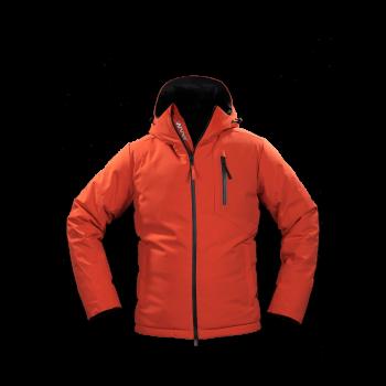 giacca uomo in piuma jaam cordura arancione samoa 4 front