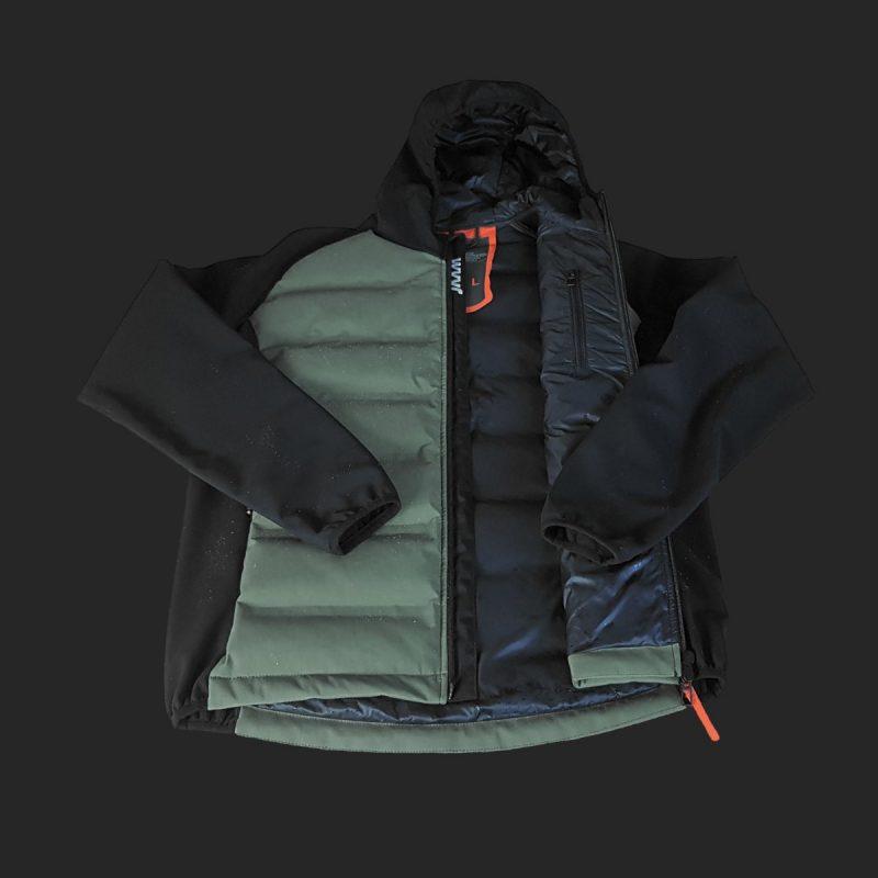 giacca-piuma-cordura-verde-dettaglio-formentera-jaam-1