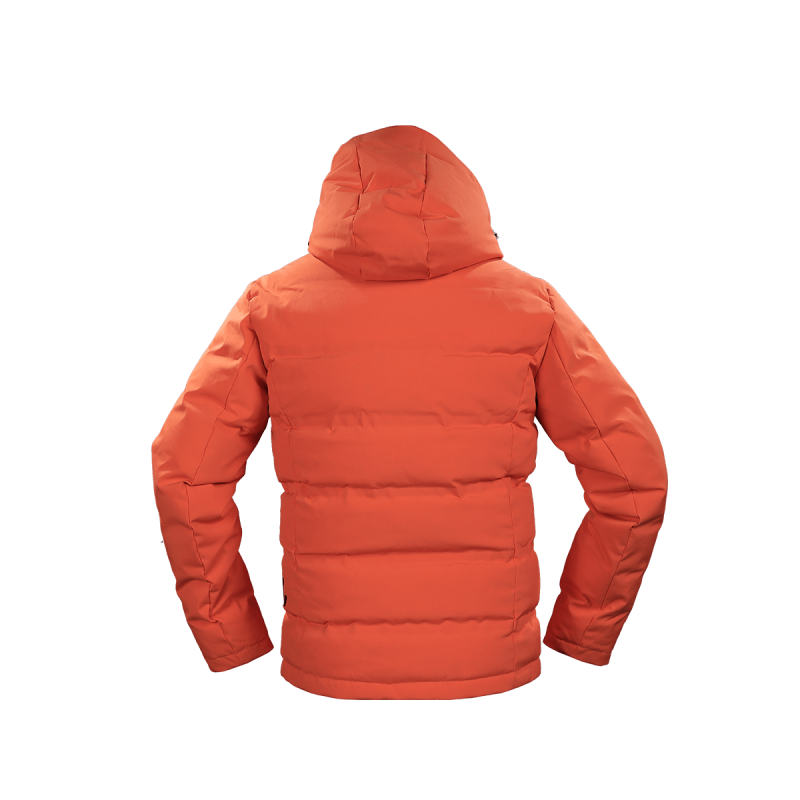 giacca uomo in piuma jaam cordura arancione samoa 4 back