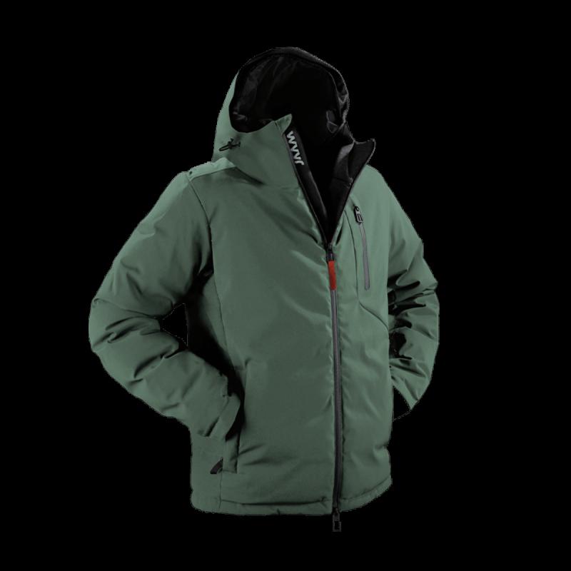 giacca-uomo-in-piuma-jaam-cordura-verde-samoa-4-front