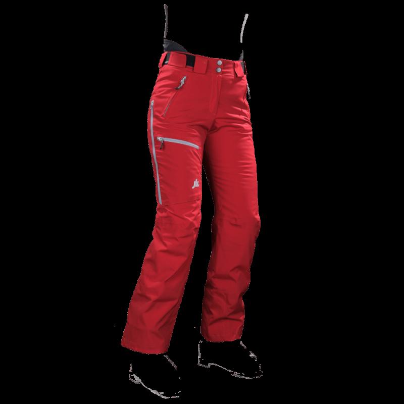 pantaloni-sci-donna-cordura-rosso-jaam-TW422-1000x1000