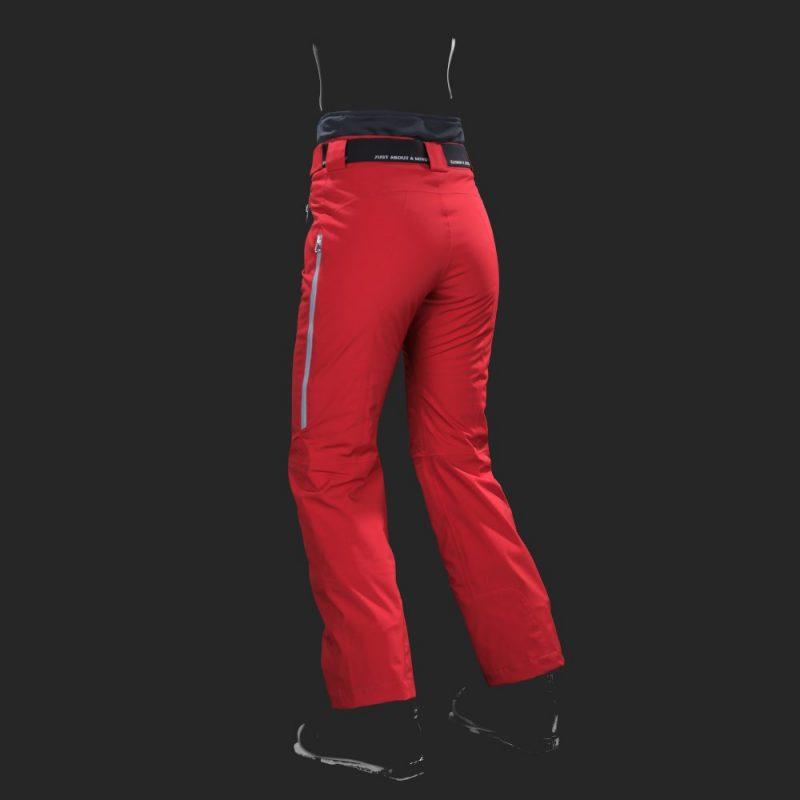 pantaloni-sci-donna-cordura-rosso-jaam-back-TW422-1000x1000