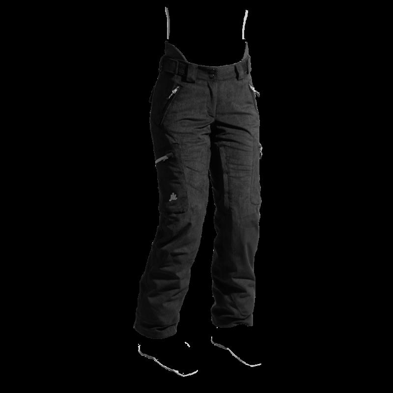 pantaloni-sci-donna-velluto-NERO-jaam-back-TW426V-1000x1000