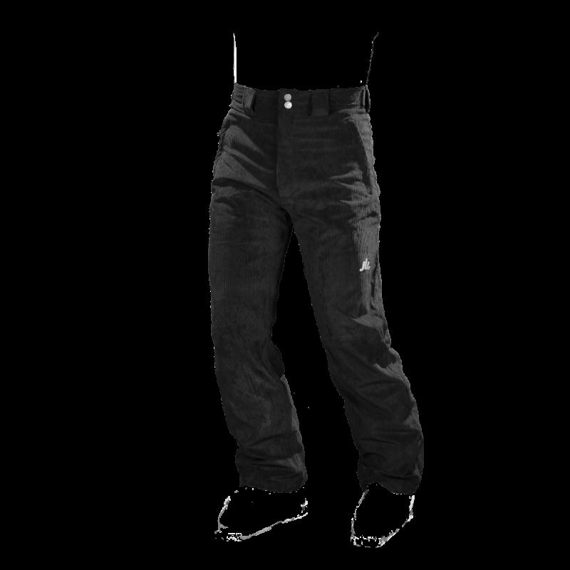 pantaloni-sci-uomo-velluto-NERO-jaam-TM400V-1000x1000