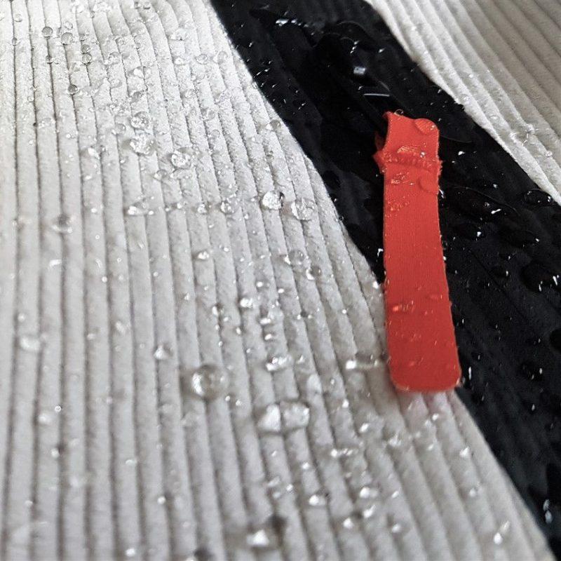 zip incollata su velluto ghiaccio jaam